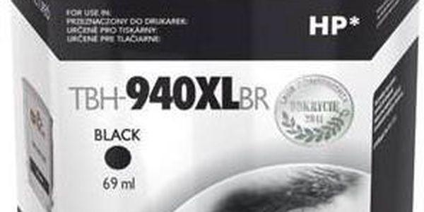 Inkoustová náplň TB HP C4906AE (No.940) refil - kompatibilní (TBH-940XLBR) černá