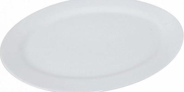 Orion Talíř porc. oválný 35,5cm bílý (128261)