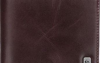 Quiksilver Kožená peněženka Macking Chocolate EQYAA03185-CTK0