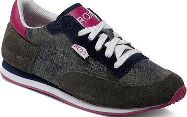 Roxy Běžecké kožené boty Run II Shoe Military ARJS700068-MIL 37