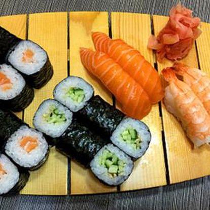 Až 50% sleva na sushi sety v restauraci Jiu Zhou, s možností odnést s sebou