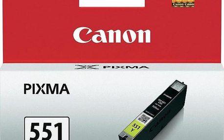 Canon CLI-551Y, XL, žlutá