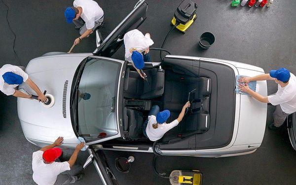 Ruční mytí vašeho vozu suchou cestou