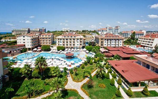 Turecko - Side na 8 až 12 dní, all inclusive s dopravou letecky z Prahy