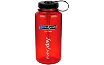 Láhev na vodu NALGENE Wide Mouth 1000 ml red