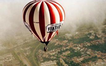 Hodinový let balónem pro jednoho