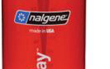Láhev na vodu NALGENE Wide Mouth 1000 ml red