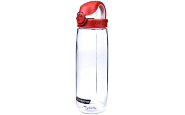 Láhev na vodu NALGENE OTF 650 ml clear/fire red cap