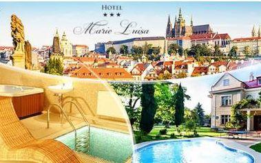 Praha - 3* Hotel Marie-Luisa až na 6 dní pro 2 osoby + snídaně, polopenze či plná penze a 20% sleva na wellness.