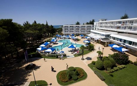 Chorvatsko - Aminess Laguna Hotel - Riviéra Novigrad / bez stravy, vlastní doprava, 13 nocí, 2 osoby