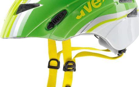 Dětská cyklistická přilba UVEX Kid 1 green-white 2015