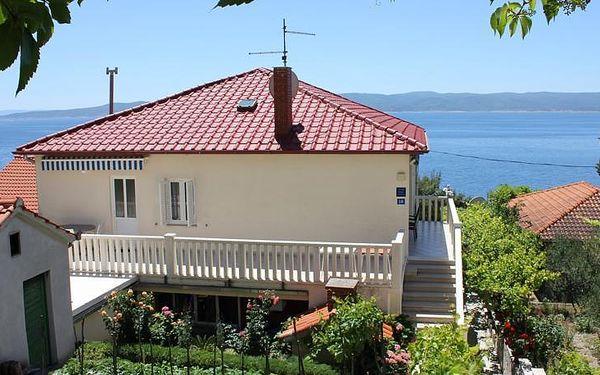 Chorvatsko - Apartmány Vruja - Riviéra Omiš / bez stravy, vlastní doprava, 13 nocí, 5 osob