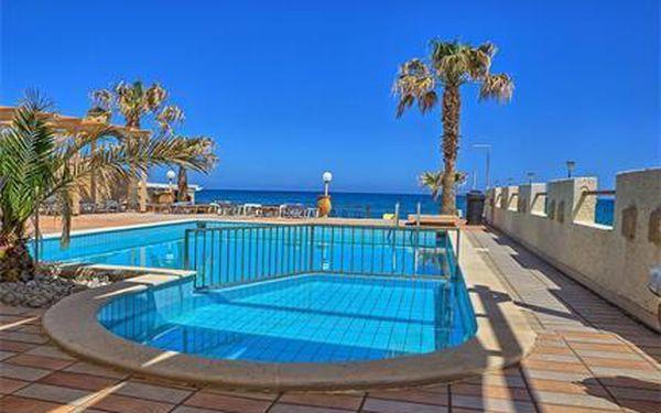 Řecko - Kréta na 8 až 12 dní, light all inclusive nebo polopenze s dopravou letecky z Prahy nebo letecky z Ostravy přímo na pláži