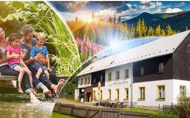 Lužické hory na 3-6 dní pro dva s polopenzí, lahví vína a slevou na aquapark Babylon! Dítě do 12 let zdarma