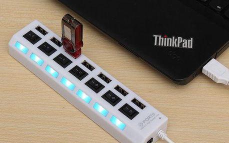 Nabíjecí USB centrála se 7 porty
