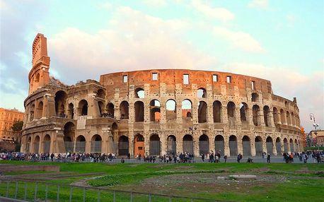 Itálie - Řím na 4 dny, snídaně s dopravou letecky z Prahy