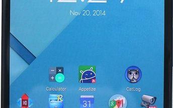 Smartphone Motorola Nexus 6, černý + 200 Kč za registraci