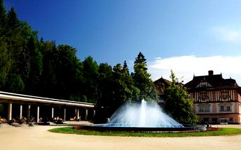 Hotel Litovel*** v nejkrásnějších moravských lázních