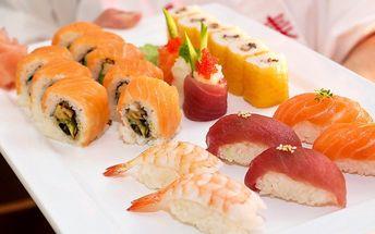 Japonská hostina: Cokoli v oceňovaném sushi baru