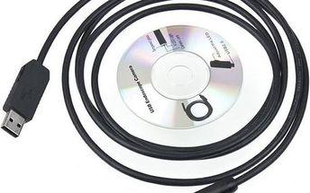 USB voděodolný endoskop (kamera) - délka kabelu 2 m - dodání do 2 dnů