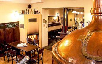 Pobyt v penzionu Kolčavka s degustací piva