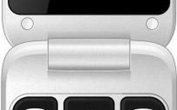 Mobilní telefon CPA Halo 13 pro seniory, bílý + 200 Kč za registraci