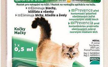 Frontline Combo Spot-on Cats sol 1x0,5ml, pro malé kočky
