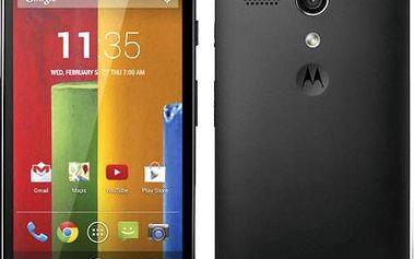Mobilní telefon Motorola Moto G (2. generace), černý + 200 Kč za registraci