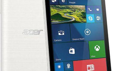 Acer M330 Dual Sim - 8GB, bílá - HM.HTHEU.001 + Zdarma CulCharge MicroUSB kabel - přívěsek (v ceně 249,-)