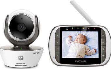 Motorola MBP 853 HD Connect dětský monitor dechu