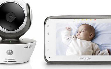 Motorola MBP 854 HD Connect dětský monitor dechu