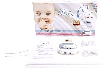 Baby Control Digital monitr dechu BC-220i - Pro dvojčata