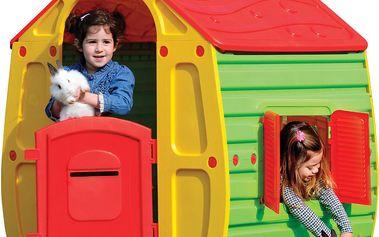 Buddy Toys Domeček MAGICAL červený BOT 1010
