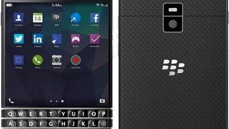 Mobilní telefon BlackBerry Passport QWERTY, černý + 200 Kč za registraci