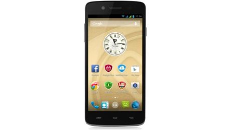 Smartphon Prestigio MultiPhone 5507 Dual SIM, černý + 200 Kč za registraci