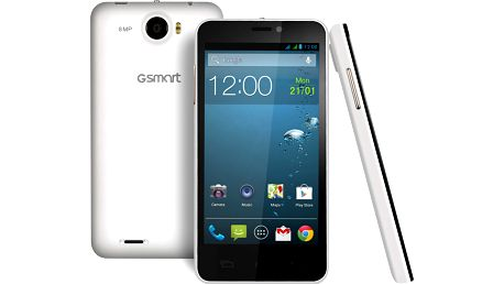 Mobilní telefon Gigabyte GSmart Maya M1v2, bílý + 200 Kč za registraci