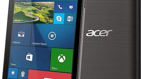 Acer M330 Dual Sim - 8GB, černá - HM.HTGEU.001 + Zdarma CulCharge MicroUSB kabel - přívěsek (v ceně 249,-)