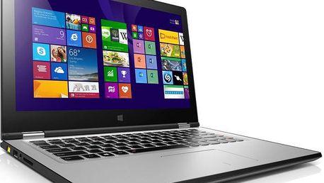 Ultrabook Lenovo Yoga 2, stříbrný + 200 Kč za registraci
