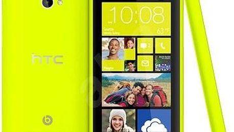 Mobilní telefon HTC Windows Phone 8X by, žlutý + 200 Kč za registraci