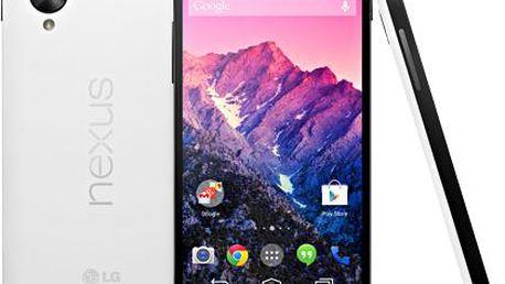 Mobilní telefon LG Nexus 5 D821, 16 GB, bílý + 200 Kč za registraci