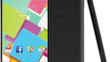 Mobilní telefon GoClever Insignia 550i, černý + 200 Kč za registraci