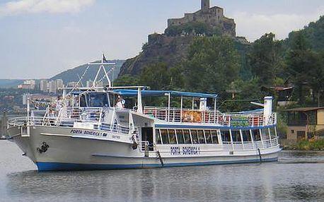 Zájezd za krásami Čech s plavbou lodí malebným údolím Porta Bohemica