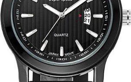 Vodotěsné hodinky v tlumených barvách pro muže