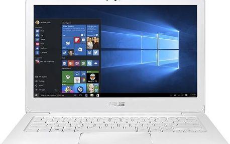 Ultrabook Asus Zenbook UX305CA-FC023T, bílý + 200 Kč za registraci