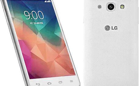Mobilní telefon LG L60, bílý + 200 Kč za registraci