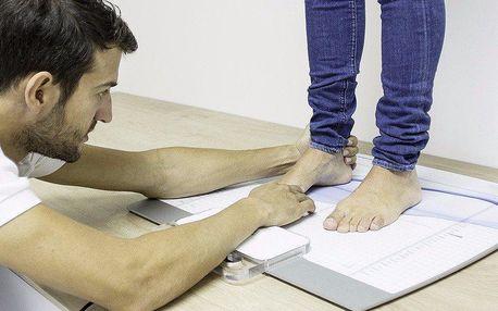 Statická analýza chodidel – řešení pro zdravý krok