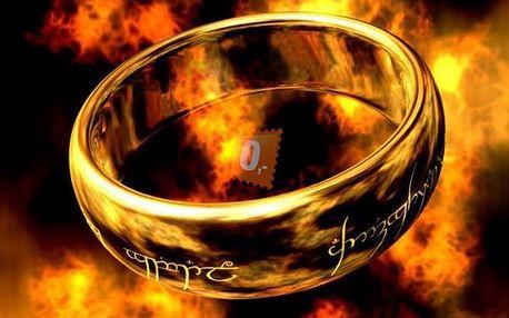 Prstýnek z Pána prstenů, dvě velikosti 18 nebo 20mm