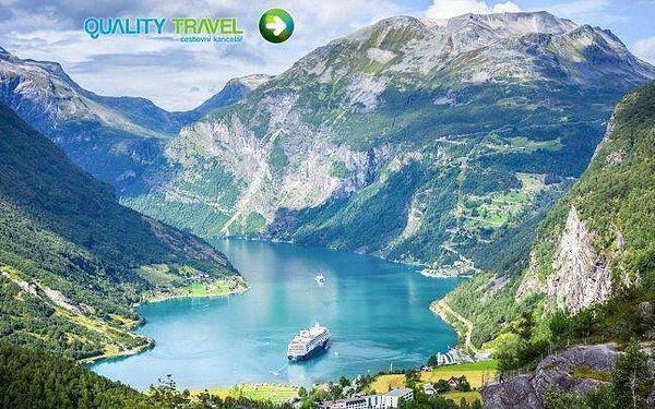 Poznávací okruh Skandinávií s dopravou