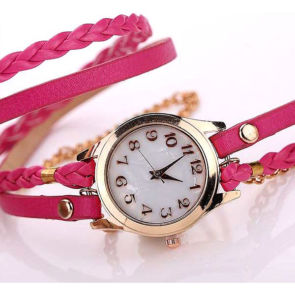 Krásné vintage hodinky s nevšedním páskem