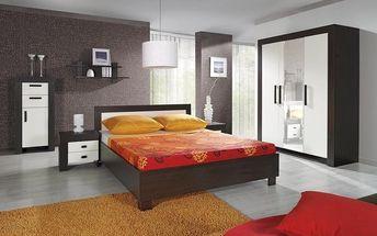 Krásná, moderní a stylová ložnice STRAKOŠ C-01